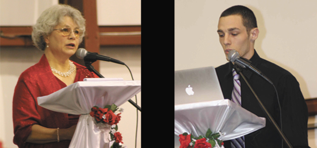Left: Teresa Romzick. Right: Charlie Perez. (photos submitted)