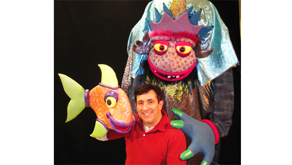 Madcap Puppets bring their puppet theater to Super Saturday March 16. (photo submitted)