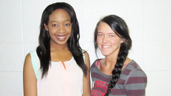 New Century Scholars Lakeyah Simpson and Taylor Stapleton. (photo submitted)