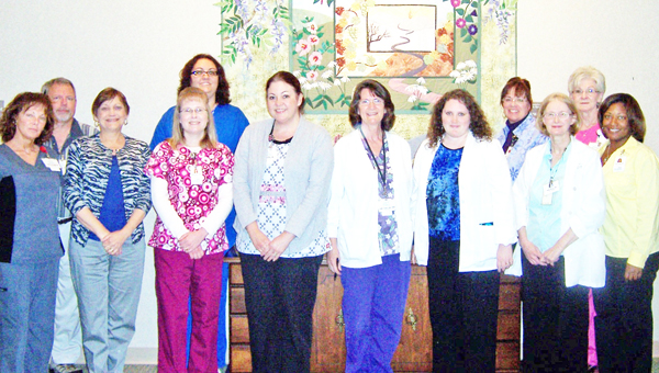 Hospice of the Carolina Foothills (HOFC) nurses. (photo submitted)