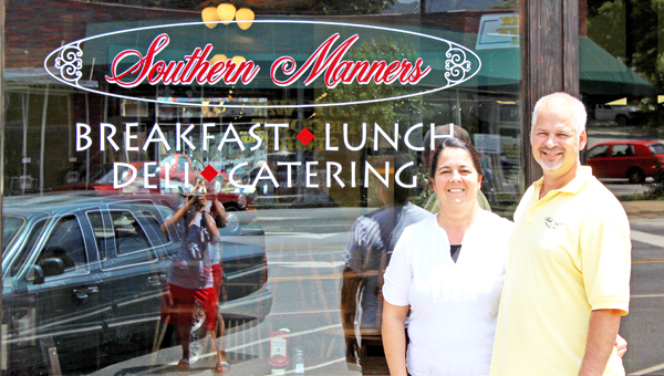 Patrick and Patricia Overholt, owners of Southern Manners.