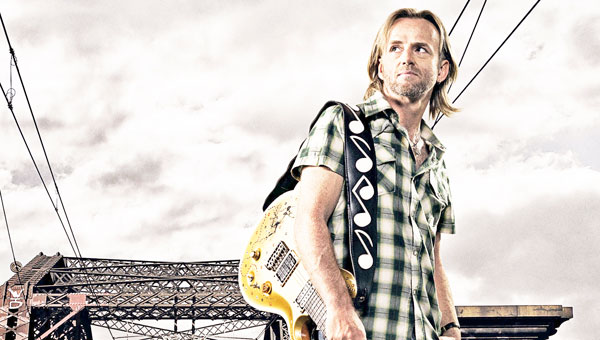 Australian blues player Geoff Achison, master of both acoustic and electric guitar, returns to Tryon Fine Arts Center with singer/ songwriter Randall Bramblett on Friday, Sept. 6 at 8 p.m. For more information on this concert, sponsored by Lichty Guitars, call 828-859-8322 or visit www.tryonarts.org. (photo submitted)