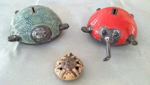 Sample projects by Gary Huntoon to be made in the workshop. (photo submitted)