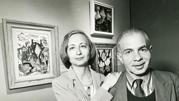 Dorothy and Herbert Vogel