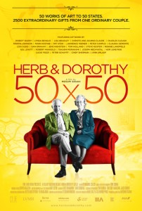"""Movie poster for """"Herb & Dorothy."""" (photo submitted)"""