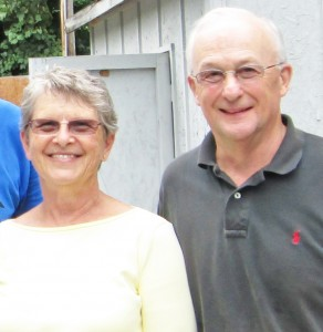 Gold winning volunteers for the months of June and July were Bonnie and Joe Eskridge. (photo submitted)