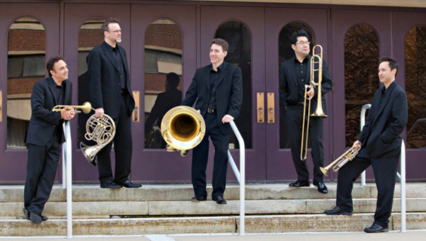 Center City Brass Quintet. (photo submitted)