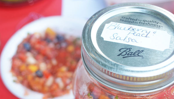 Salsa from a recent contest held at the Tryon Farmers market. (photo by Samantha Hurst)