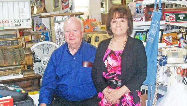 Leon and Judy Morgan will celebrate their 50th wedding anniversary with a drop in reception at the Saluda Senior Center on Sunday, Aug. 25 at 6:30 p.m.  Leon and Judy were married on August 26, 1963 in Spartanburg, S.C.  Leon is the son of the late Leland and Lucy Morgan of Saluda. Judy is the daughter of the late Alfred and Pauline Anderson of Hendersonville. The Morgan's are the owners of Somewhere In Time, an antique store, and M. A. Pace General Store in Saluda.   They are very active in the town; Leon is currently on Saluda City Council as a commissioner. They have raised three lovely daughters; Tammy Frisbee, Tangela  Ciarvolo, and Tonya Pace. They also have three grandchildren; Scarlett Frisbee, Cynthia Pace, and Lathan Pace all of whom live in Saluda. (photo submitted by Tangie Ciarvolo)