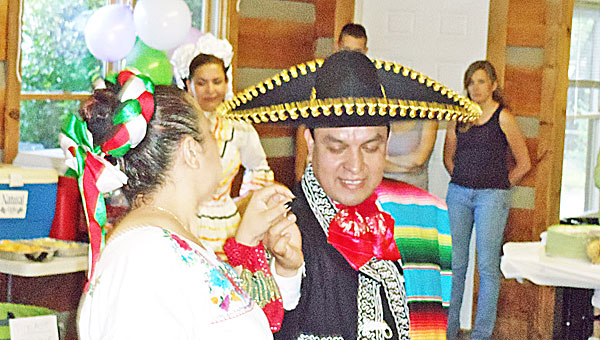 """""""Sin Fronteras"""" dancers entertained members of the Friendship Council at the group's June meeting earlier this year celebrating the heritage of all members of the community. The Friendship Council resumes its monthly meetings Sept. 10. (photo submitted)"""