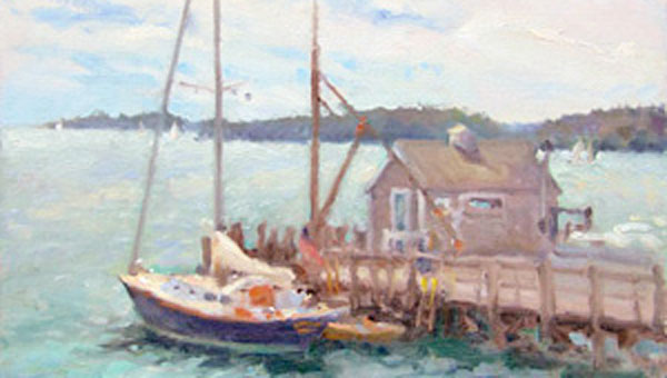 Boothbay afternoon by Rich Nelson