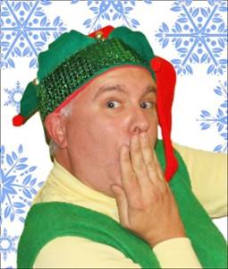 Chris Tinkler as Crumpet the elf