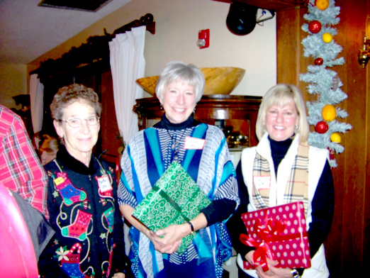 Left to right:  Martha Love, Sandy Sibley, and Sue Truitt (photo provided)
