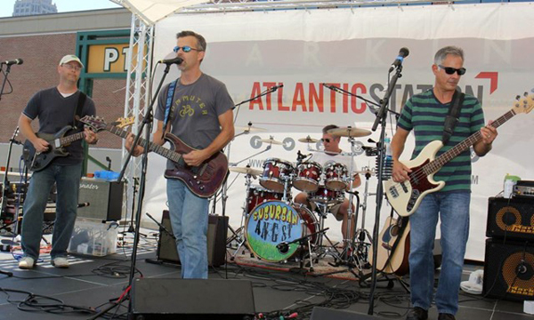 Suburban Angst is booked to play Tryon's fourth annual Beer Fest, Nov. 7.