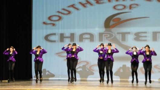 "The Senior Tap Team performs ""Jumping Jack."""