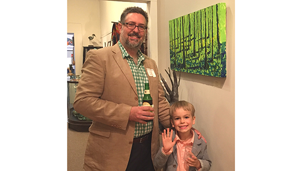 Corey and Mason McNabb with Blue Forest
